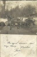 ( CARTE PHOTO )(ATTELAGE )( PHILATELIE)( ARCIS SUR AUBE )( 10 AUBE ) 1903 - Professions