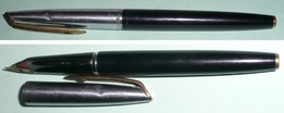Rare Stylo De La Marque WATERMAN's, Plume Or 18 K Ct, En Boite - Stylos