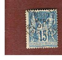 FRANCIA (FRANCE) - SG 279  -    1878  PEACE & COMMERCE            15 C  - USED - 1876-1878 Sage (Tipo I)