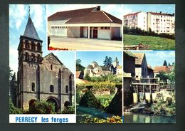 CPM -71- PERRECY-LES-FORGES - MULTI-VUES - - France