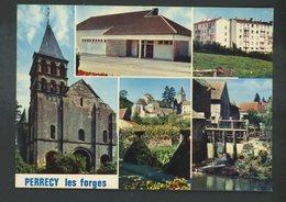 CPM -71- PERRECY-LES-FORGES - MULTI-VUES - - Autres Communes
