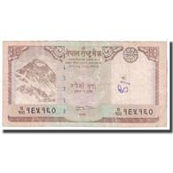 Billet, Népal, 10 Rupees, 2008, KM:61, B - Népal