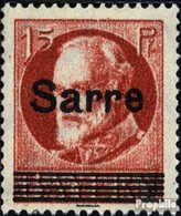 Saarland 20b Mit Falz 1920 König Ludwig - 1920-35 Société Des Nations