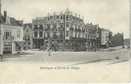 WENDUYNE - WENDUINE : L'Entrée Du Village - Cachet De La Poste 1907 - Wenduine