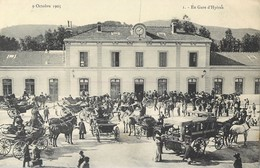 HYERES SAN SALVADOUR LA GARE 9 OCTOBRE 1905 MONT-DES-OISEAUX 83 VAR - Hyeres