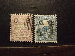 NUOVA GALLES DEL SUD  O S USATO - 1850-1906 New South Wales