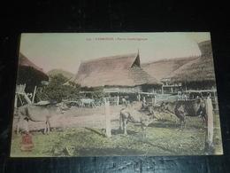 CAMBODGE, FERME CAMBODGIENNE - ASIE (AC) - Cambodia