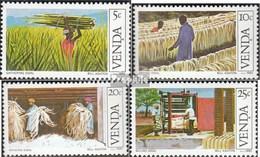 Südafrika - Venda 54-57 (kompl.Ausg.) FDC 1982 Sisalindustrie - Venda