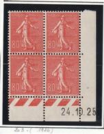 France Coin Daté Du Numéro 203 Sans Charniére ** Luxe Du 24 10 1926 - ....-1929