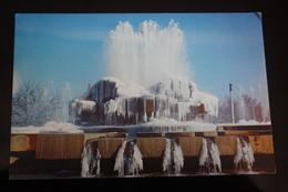 Turkmenistan. Ashgabat / Ashkhabad. Modern Fountains. Modern Postcard 2000s - Turkménistan