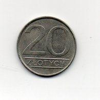 Polonia - 1985 - 20 Zlotych - Vedi Foto - (MW1853) - Polonia