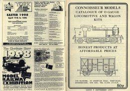 Catalogue CONNOISSEUR MODELS 1997 O Gauge Kits Locomotive & Wagon - Books And Magazines
