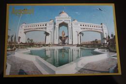Turkmenistan. Ashgabat / Ashkhabad. Western Entry Arch. Modern Postcard 2000s - Turkmenistan