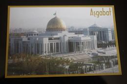 Turkmenistan. Ashgabat / Ashkhabad. Turkmenbashi Palace. Modern Postcard 2000s - Turkmenistan