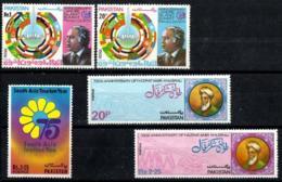 Pakistan Nº 374-375/6-387/8 En Nuevo - Pakistán