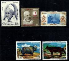 Nepal Nº 254-262/3 En Nuevo - Nepal