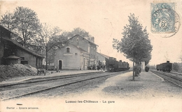 ¤¤  -   LUSSAC-les-CHATEAUX   -   La Gare  -  Train, Chemin De Fer   -   ¤¤ - Lussac Les Chateaux