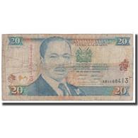 Billet, Kenya, 20 Shillings, 1995, 1995-07-01, KM:32, B - Kenya