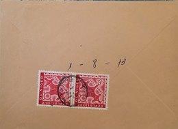 NIGER. Timbres Taxes Losange Sur Courrier De 1973. TRES RAREMENT PROPOSE - Stamps