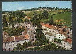 CPM -71- LA GUICHE - LA PLACE - VUE AERIENNE - France