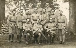 Themes Div-ref Y665-militaires -militaria -regiments -regiment -carte Photo- 2eme Regiment A Privas - Ardeche  - - Privas