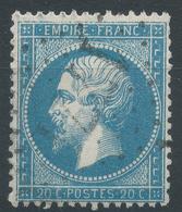 Lot N°44943  Variété/n°22, Oblit GC 1771 Gardonne, Dordogne (23), Ind 21 Ou Hayange, Moselle (55), Ind 6, Filets - 1862 Napoléon III