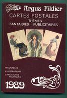 Argus Fildier 1989 Cartes Postales Incunables Illustrateurs Caricatures Politiques - Livres