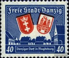 Danzig 275X Gestempelt 1937 Magdeburg - Dantzig