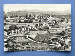 Cartolina Cairo Montenotte - Zona Stabilimenti - 1958 - Savona