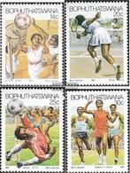 Bophuthatswana 181-184 (complete.issue.) FDC 1987 Sports - Bophuthatswana