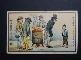 Chromo FARRADESCHE. Pub. Eugène Saint Remy.  Confection. LE  MANS. Autour Du Brasero. - Unclassified