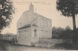 MAATZ - L'AVENUE DE LA GARE - LA MAISON RICCARD - BEAU PLAN - - Francia