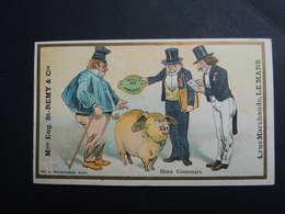 Chromo FARRADESCHE. Pub. Eugène Saint Remy.  Confection. LE  MANS. Hors Concours.  Cochon.  Médaille De Prix.Paris 1899. - Unclassified