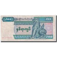 Billet, Myanmar, 200 Kyats, 1991-1998, KM:75b, TB - Myanmar