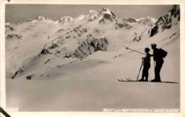 Blick Vom Rotmoosjoch Auf Kleine Weise Weisse (2630) * 1930 - Sölden