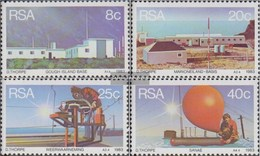 South Africa 626-629 (complete Issue) FDC 1983 Wetterstationen - FDC