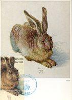 39998 St.tomè E Principe, Maximum 1995  Showing A Painting Of Albrecht  Durer Der Hase, Rabbit, - Arts