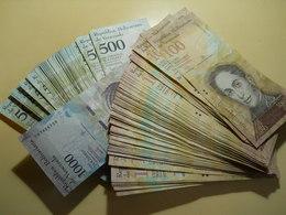 Venezuela Lot Of 133 Banknotes - Vrac - Billets