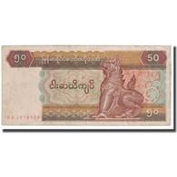 Billet, Myanmar, 50 Kyats, 1997, KM:73b, B - Myanmar