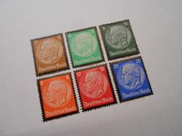 D.R. Mi 548-553  3/5/6/8/12/25Pf*MLH - 1934 - Mi 18,00 € - Unused Stamps