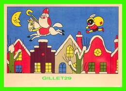 PÈRE NOEL - SANTA CLAUS - COLLECTIE BOOY - DICK VANDÉ, 1945 - ART UNLIMITED - - Santa Claus