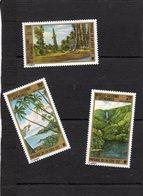 Nouvelle Calédonie:PA Aérienne Année 1973: Lot De 3 Valeurs N°1135**,N°136**N°137(Coquikkages) - Airmail