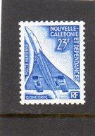 Nouvelle Calédonie:PA Aérienne Année 1973: N°139**(Concorde) - Airmail