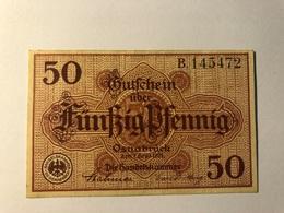 Allemagne Notgeld Osnabruck 50 Pfennig - [ 3] 1918-1933 : Weimar Republic
