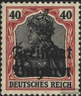 Bavaria 145 With Hinge 1919 Germania With Print - Bavaria