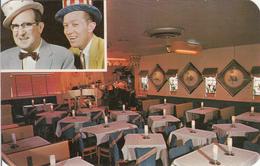 1960's Postcard - Denver Colorado - Beacon Supper Club Restaurant - Willie & Jerry - 2 Scans - Denver