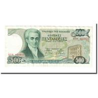 Billet, Grèce, 500 Drachmaes, 1983, 1983-02-01, KM:201a, TTB+ - Grèce