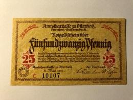 Allemagne Notgeld Osterholz 25 Pfennig - [ 3] 1918-1933 : Weimar Republic