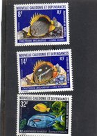 Nouvelle Calédonie:année 1973:  PA N°145**et N°387**,N°388** - Airmail