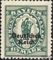 German Empire 131 With Hinge 1920 Bayern Farewell - Ungebraucht